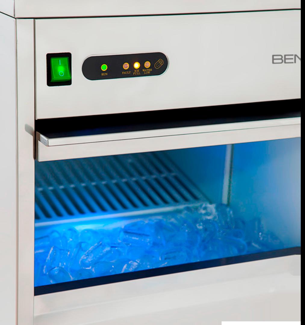 máquinas<br/> de gelo
